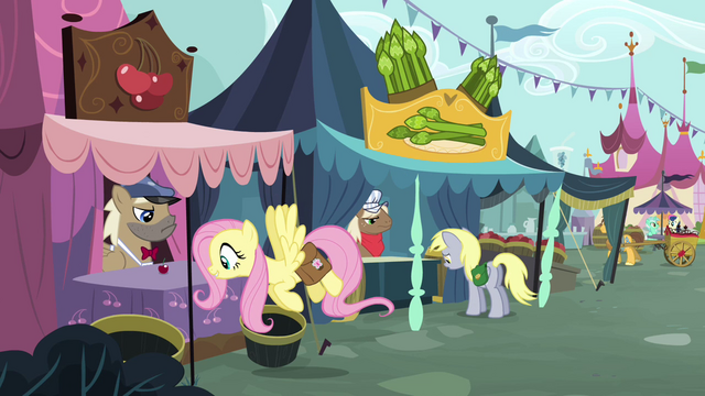 File:Fluttershy observes the cherry S2E19.png