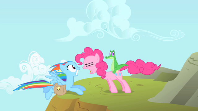 File:Pinkie Pie 'What's in those bags' S1E25.png