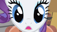 Rarity close up gasp S1E19
