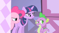Spike sneaky eyebrow S1E20
