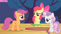 Apple Bloom and Sweetie Belle tired S4E05.png