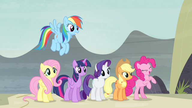 """File:Pinkie Pie """"now those are real smiles"""" S5E2.png"""