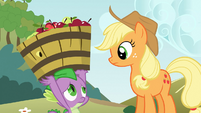"Applejack ""it's not necessary"" S03E09"