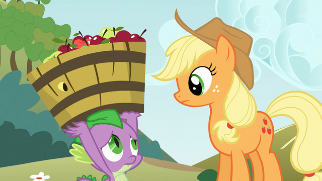 "File:Applejack ""it's not necessary"" S03E09.png"