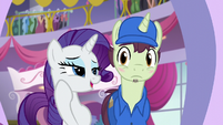 "Rarity ""I would be eternally grateful"" S5E15"