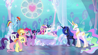 "Princess Celestia ""something Equestria has never seen"" S6E1"