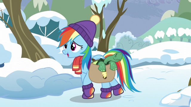 File:Rainbow Dash arrives with Tank S5E5.png