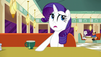 "Rarity ""...far too loud"" S6E9"