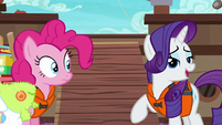 "Rarity ""your wardrobe is delightfully seaworthy"" S6E22"