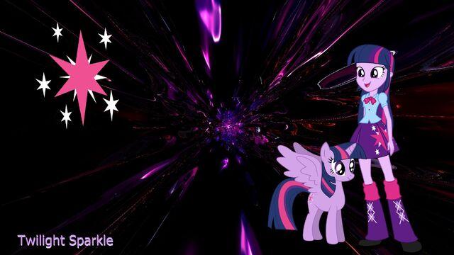 File:FANMADE Twilight Sparkle wallpaper.jpg