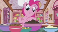 "Pinkie ""praline and nuts"" S5E8"