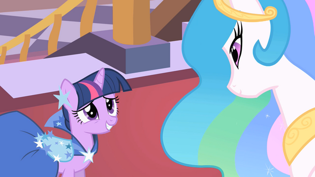 "File:Twilight and Celestia ""we have so much to catch up on"" S01E26.png"