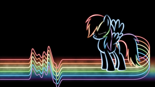 File:FANMADE Rainbow Dash glow wallpaper by SmockHobbes.jpg