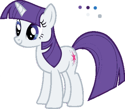 File:FANMADE Twilight Rarity pallette swap by Mewkat14.png