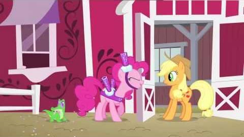 Greek Pinkie Pie's Singing Telegram
