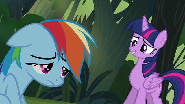 "File:Twilight and Rainbow ""an honest mistake"" S4E04.png"
