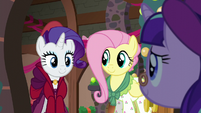 Flutterholly and Merry opens the door for Snowfall S06E08