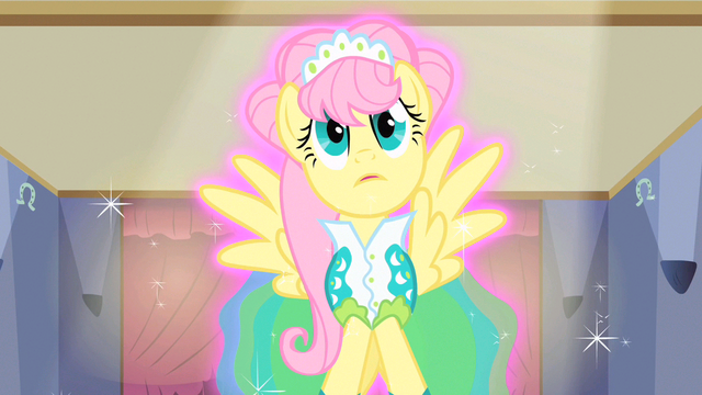 File:Fluttershy braying S1E20.png