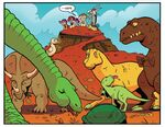 Comic issue 24 dinosaurs
