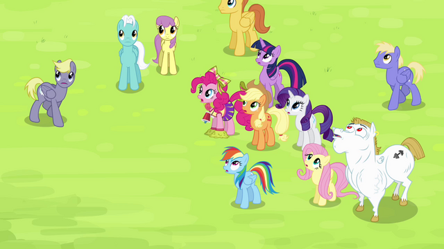File:Main cast and Bulk sees Soarin falling down S4E10.png