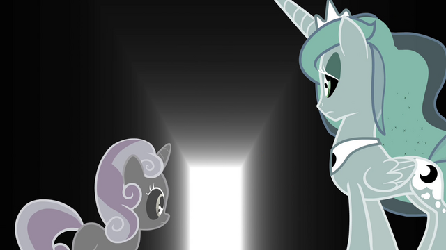 File:Sweetie Belle and Luna see an opened door S4E19.png