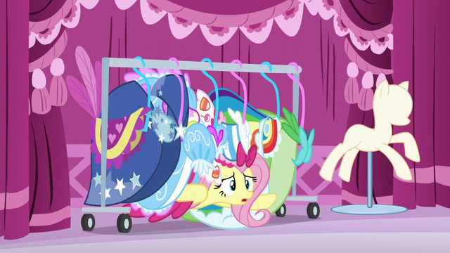 """File:Fluttershy """"I wish it had been more fettered"""" S6E9.png"""