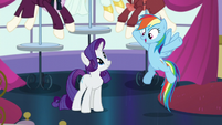 """Rainbow """"And I do get to stay in the castle"""" S5E15"""