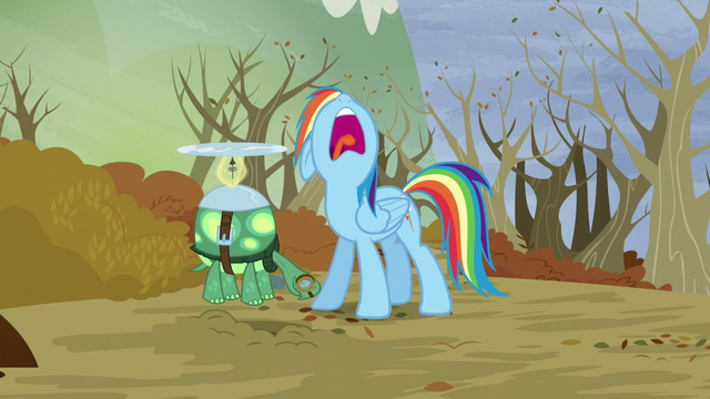 "File:Rainbow ""Let's get out of here!"" S5E5.png"