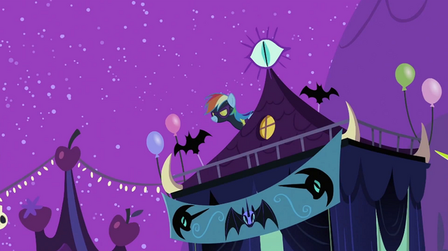 File:Rainbow Dash on roof S2E04.png