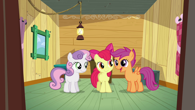 File:Scootaloo 'A club devoted to helping ponies get their cutie marks!' S3E04.png