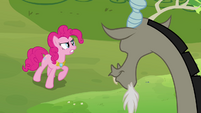 "Pinkie Pie ""make that bunny cute again!"" S03E10"