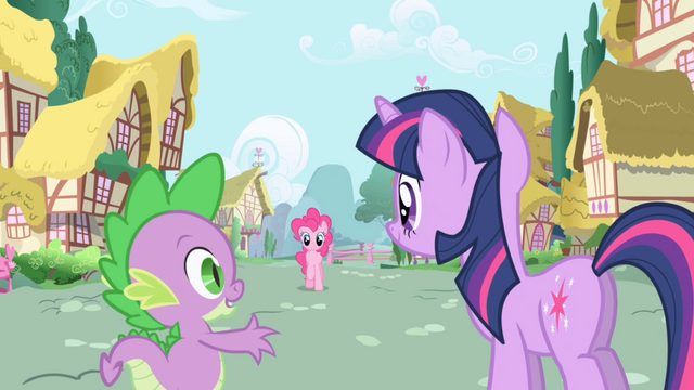 "File:Spike ""maybe ponies in Ponyville have interesting things to talk about"" S1E01.png"