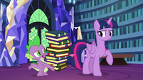 "Spike cynical ""twenty moons from now?"" S6E21"