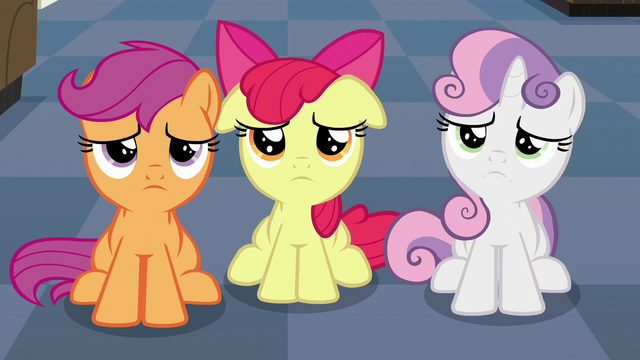 File:The Cutie Mark Crusaders disappointed S6E4.png