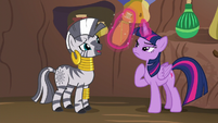 "Zecora ""this potion will break the spell"" S5E22"
