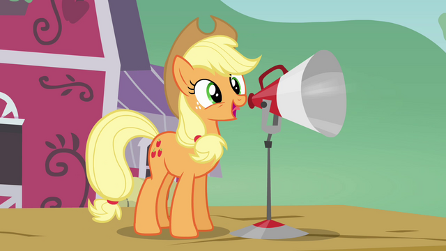 File:Applejack 'and I just want to let y'all know' S3E08.png