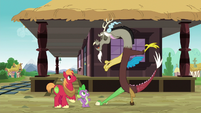 Discord bids adieu to Spike and Big Mac S6E17