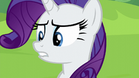 Rarity starting to get impatient S6E3