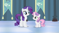 "Sweetie Belle ""the costumes were the best part"" S4E19"