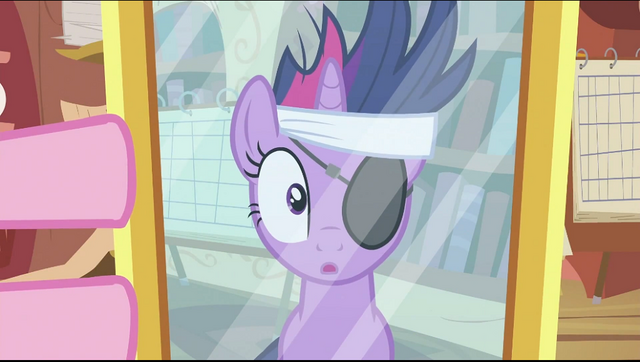 File:Twilight with eyepatch looking at mirror S2E20.png