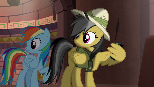 File:Rainbow and Daring hear Quibble's voice S6E13.png