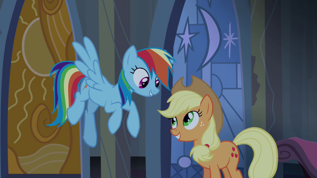 File:Rainbow Dash and Applejack relieved S4E03.png