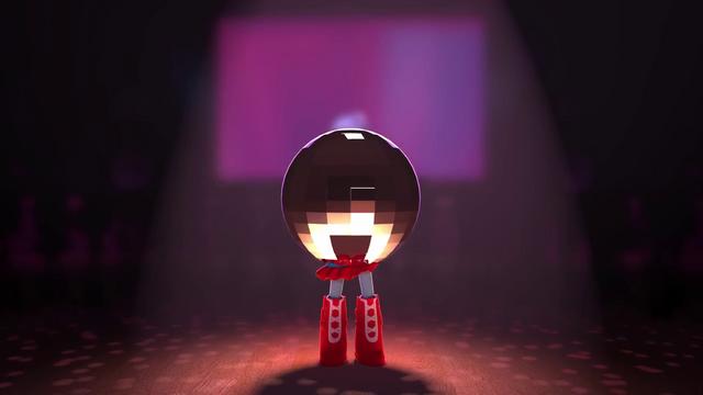 File:Rainbow Dash wearing a disco ball EGM5.png