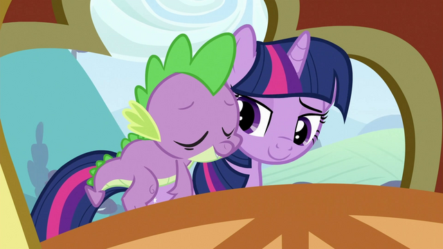 File:Spike on Twilight's back 3 S3E2.png