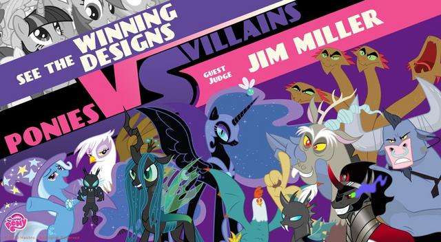 File:Ponies vs. Villians - Villains Design Contest WeLoveFine.png