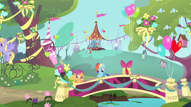 File:Rainbow Dash and the CMC S4E14.png