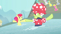 Apple Bloom and Granny spinning around S4E20.png