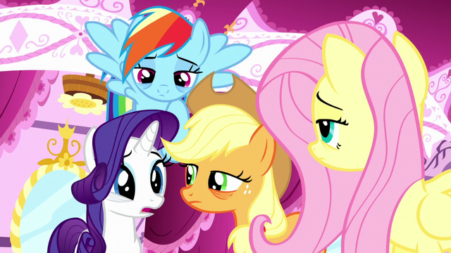 "File:Rarity ""what could've given us all the same nightmare?"" S5E13.png"