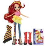 Sunset Shimmer Equestria Girls Rainbow Rocks fashion set