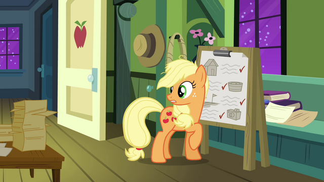 File:Applejack looks behind S3E08.png